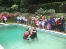 Baptism Grace Church Sussex 2